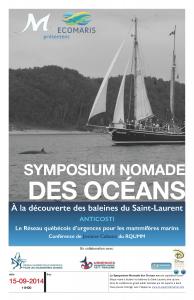 Affiche Symposium Nomade ANTICOSTI