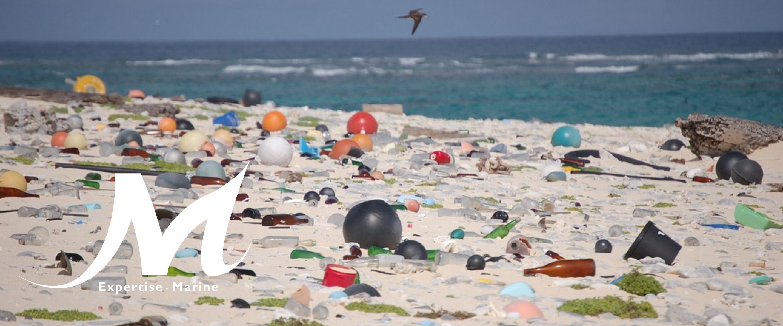 Gestion des débris marins